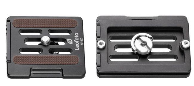 Leofoto plato extraible NP-50 y compatible Arca Swiss