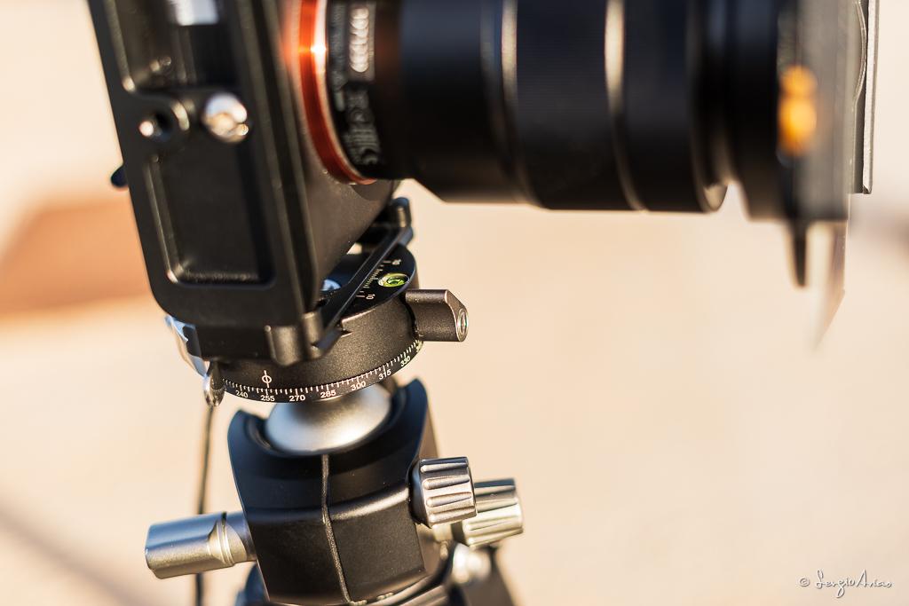 Control panorámico de la rótula de bola Leofoto LH-40PCL