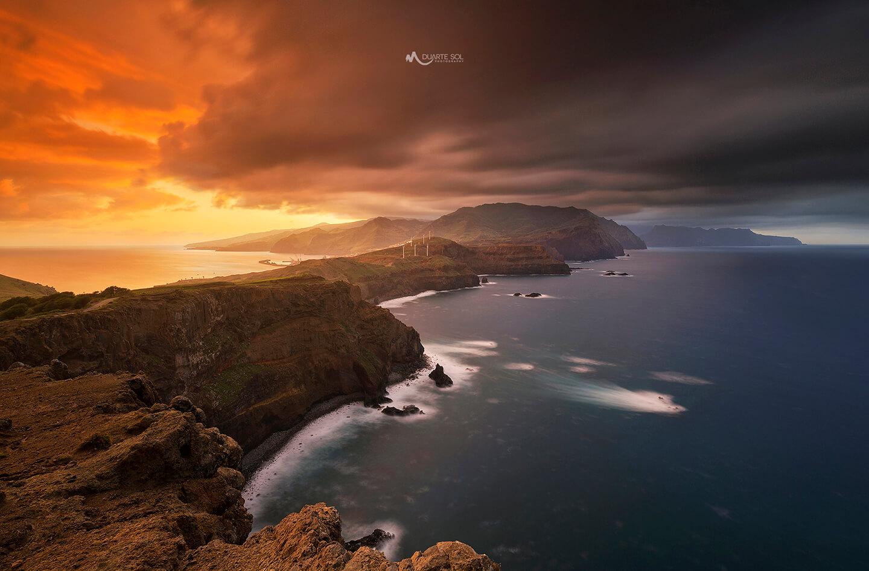 El fotógrafo Duarte Sol y paisaje con trípodes Leofoto
