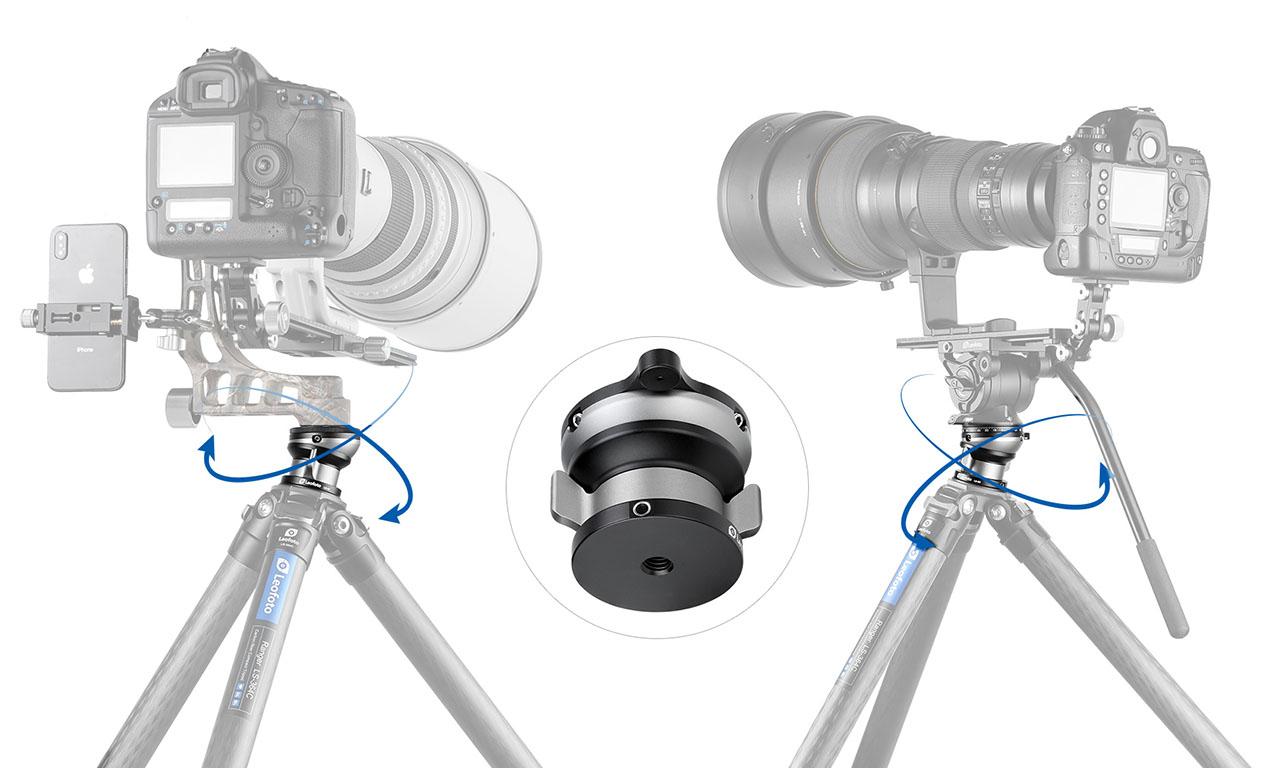 Nivelador Leofoto LB-60N para teleobjetivos