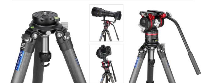 Nivelador Leofoto YB-75LP para cámaras, videocámaras y tripodes