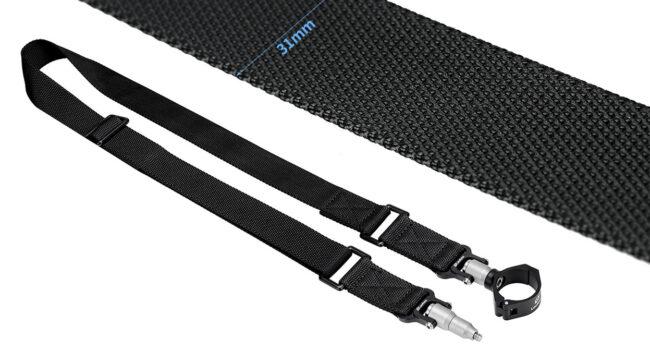 Leofoto Strap-36LS en nylon y anclaje rápido y seguro