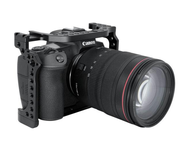 Camera Cage Leofoto para cámara Canon EOS-R