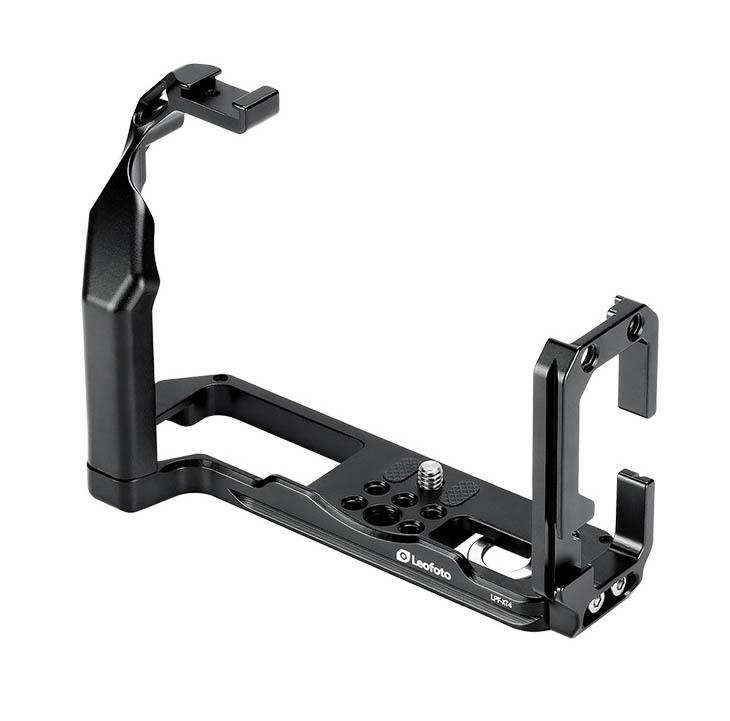 Plato en L Leofoto LPF-XT4 para Fuji en aluminio y maquinaria CNC