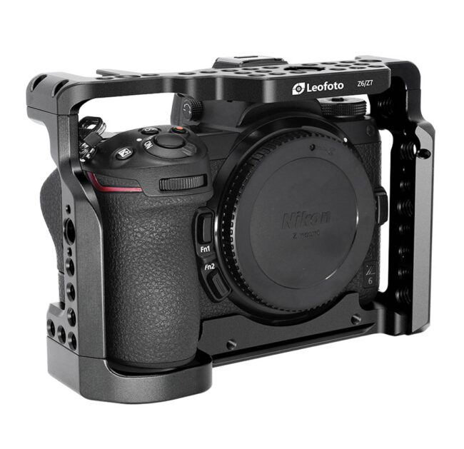 Jaula Camera Cage Leofoto Nikon Z6 y Z7