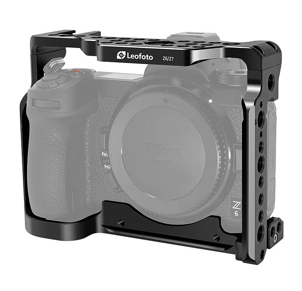 Camera Cage Leofoto Nikon Z6 y Z7