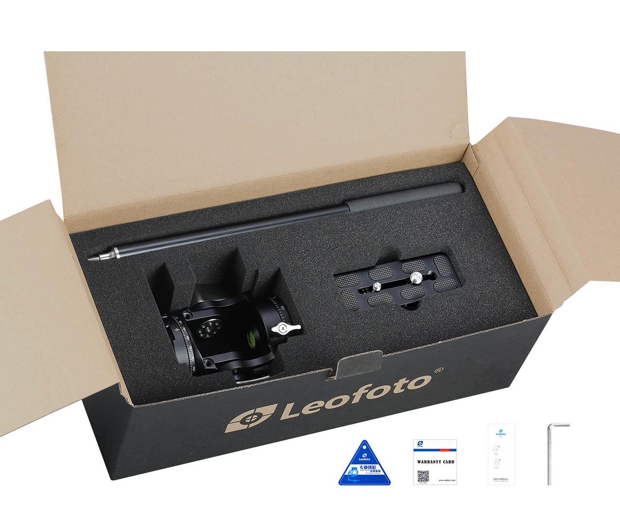 Accesorios incluidos Leofoto LH-30