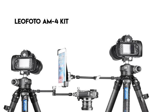 Extensión larga Leofoto AM-4 Kit