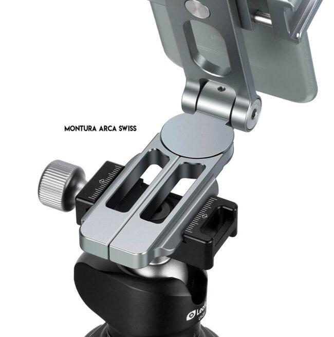 Leofoto PS-2 compatible con arca Swiss