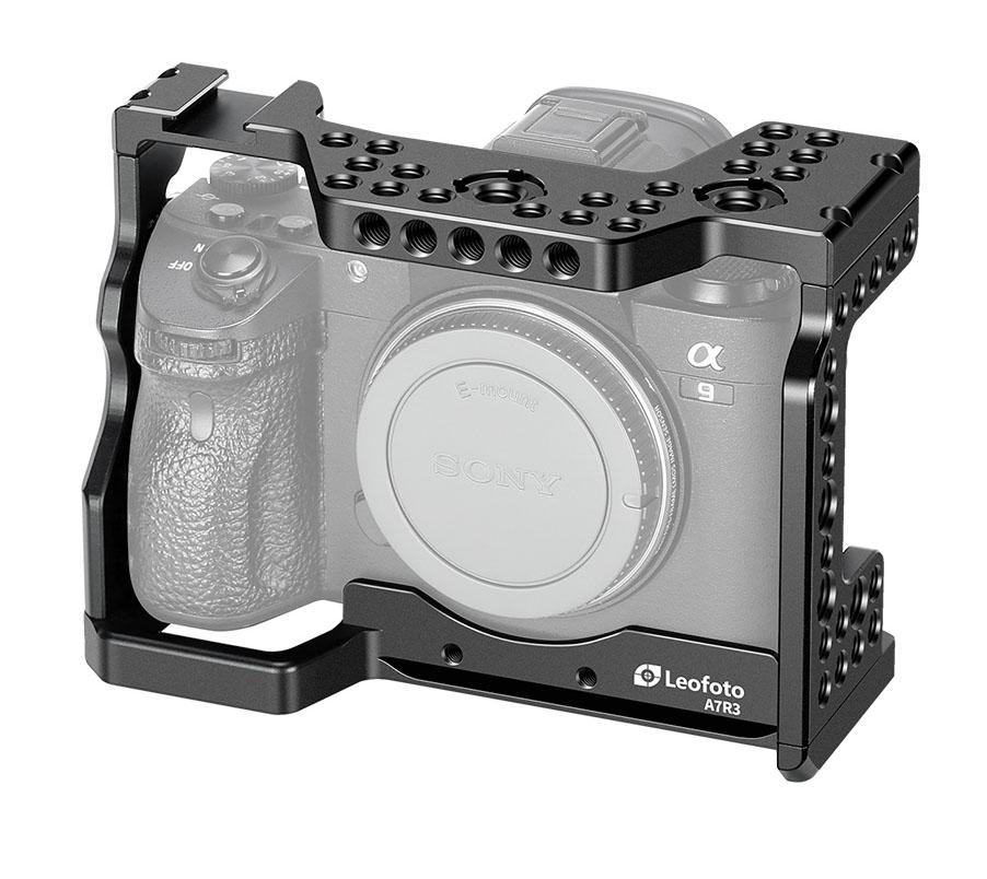 Camera Cage Leofoto para Sony A7R3, A7III y A9