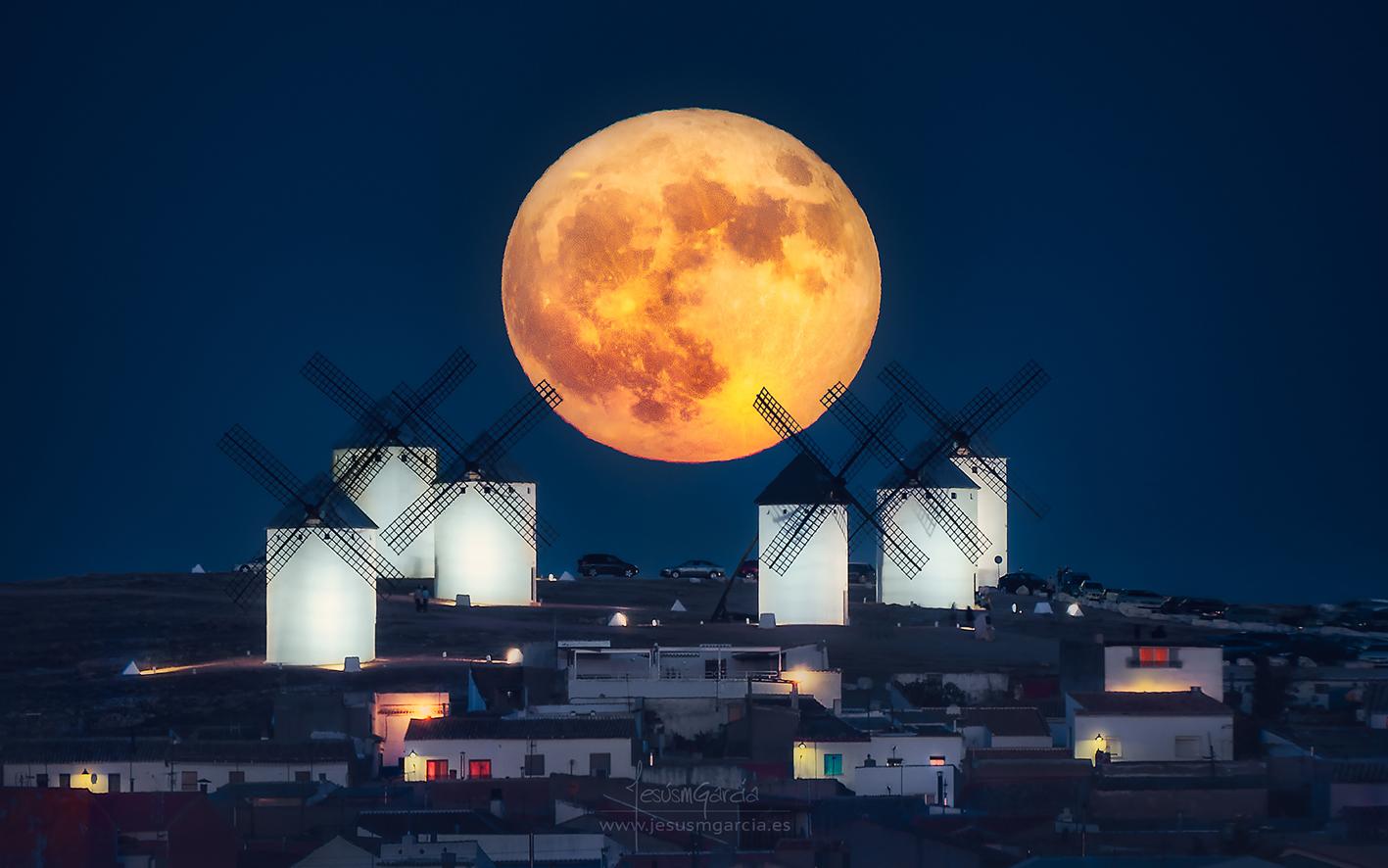 molinos y luna