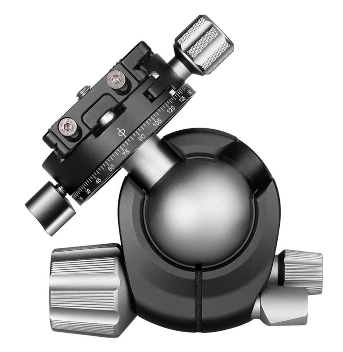 Rótula de bola Leofoto LH-36R+NP-50 con control de fricción