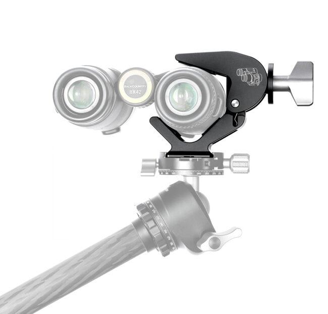 Pinza soporte para prismáticos Leofoto BC-02