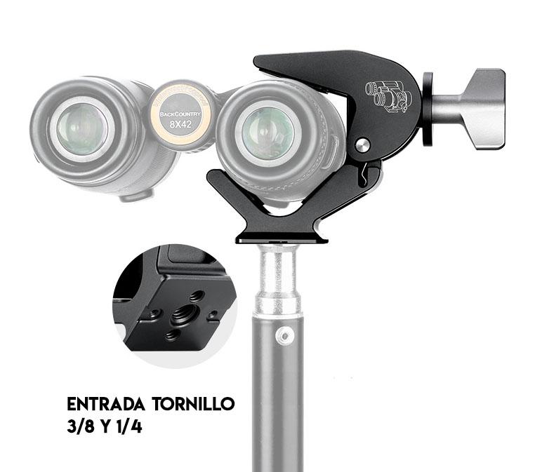 Leofoto BC-02 sujeción para binoculares