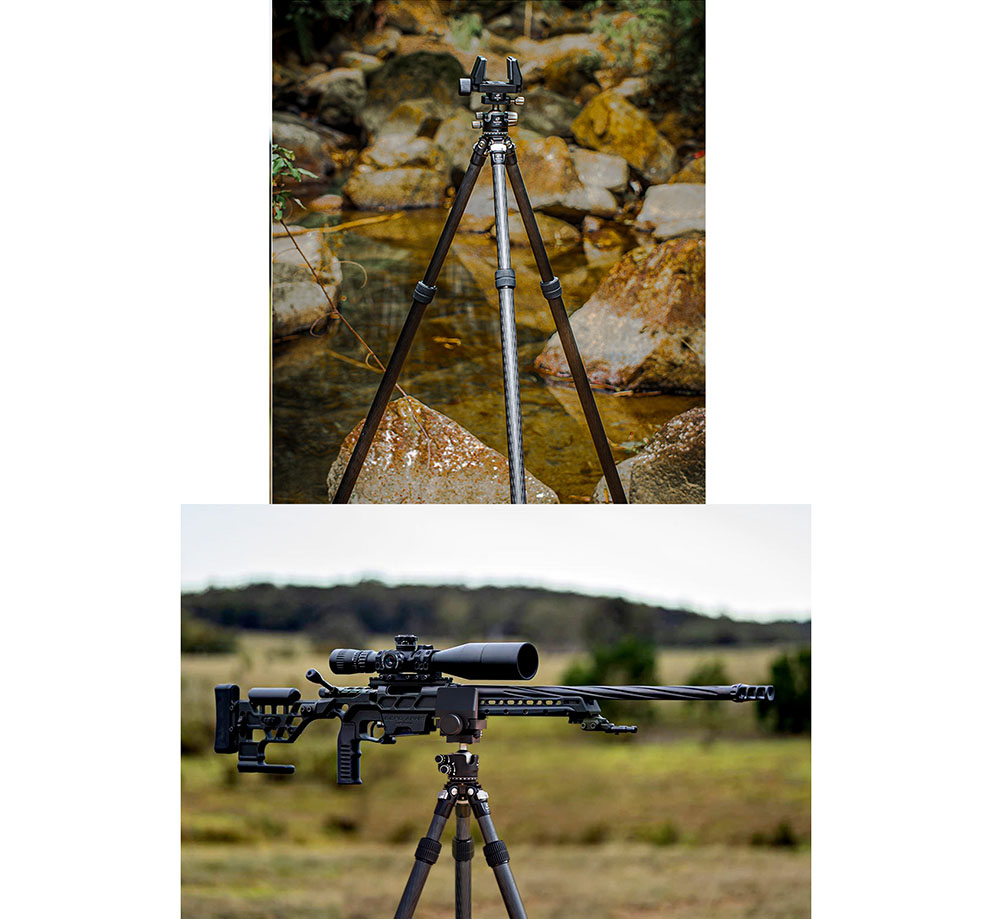 trípode Leofoto SO-282C para rifles y tiro de precisión