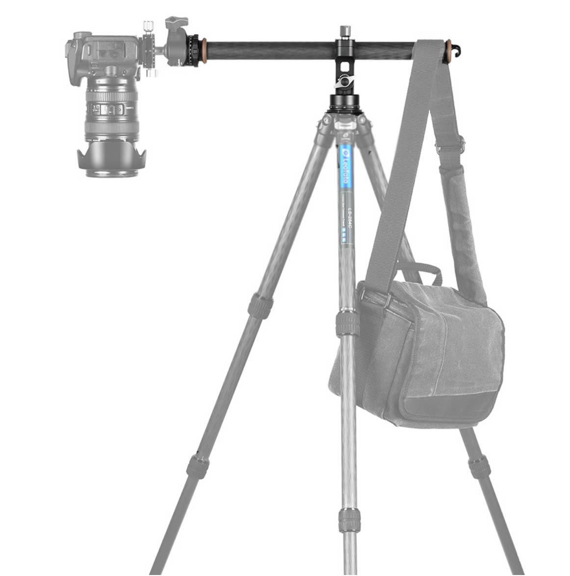 Leofoto HC-32 columna horizontal con contrapeso