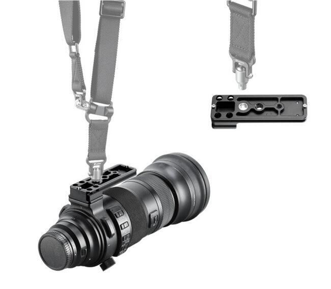 Leofoto SFG-01 con enganche para correa