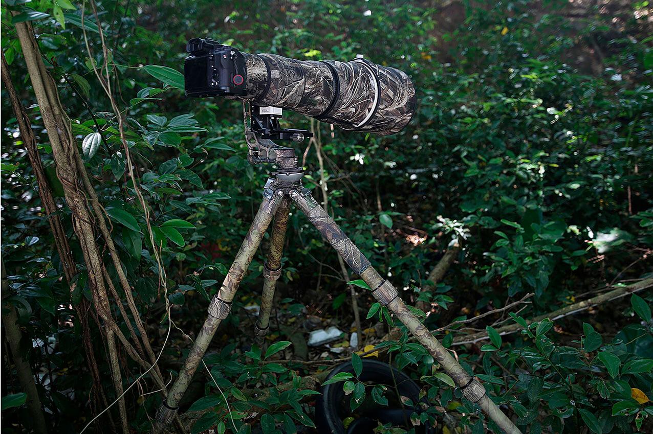 Trípode de carbono Leofoto LS-365CEX Full Camo