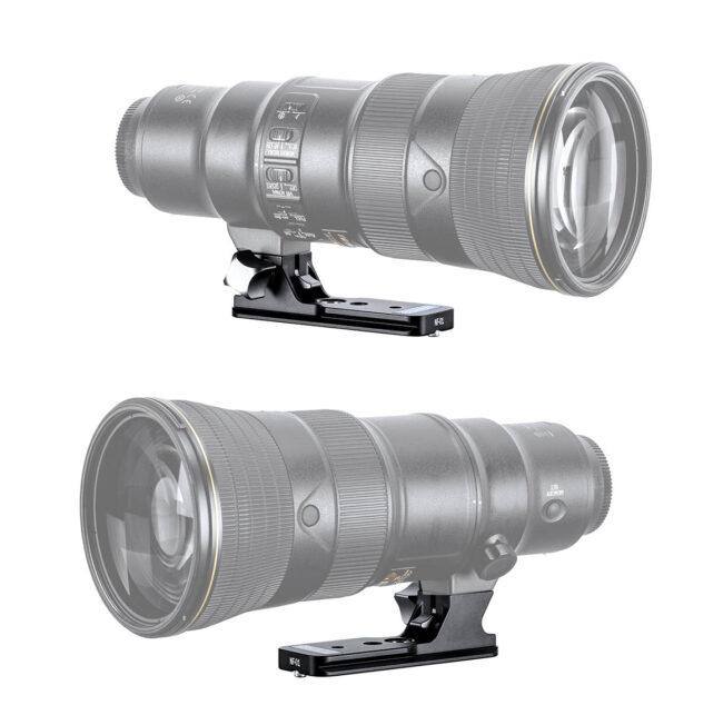 zapata Leofoto NF-01 para telobjetivos Nikon